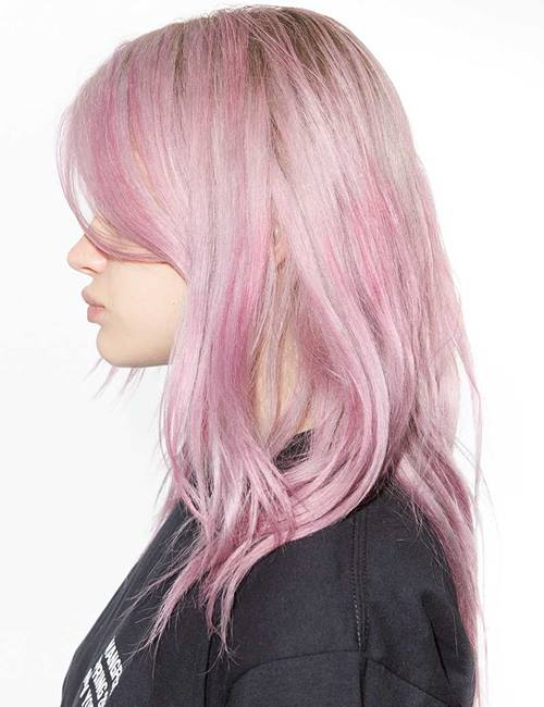 Lilac Rose Hair Color