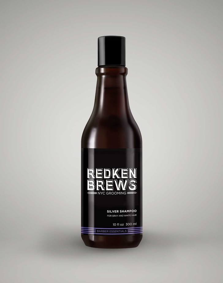 Shampoo Redken Brews Extra Clean